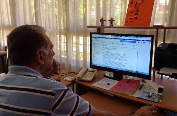 Rene González se estrena como bloguero. Foto: rene4the5.com/