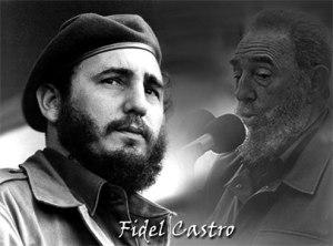 Fidel Castro Ruz, líder indiscutible de la Revolución cubana.