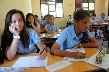 estudiantes preuniversitario